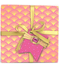 K&Company Pink And Gold Honeycomb Gift Tags