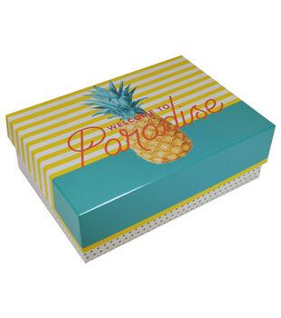 Organizing Essentials Medium Fliptop-Stripe Welcome To Paradise