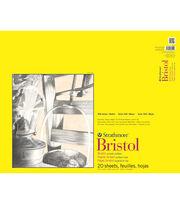 Strathmore 300 Series 20-sheet 19''x24'' Tape Bound Bristol Smooth Pad, , hi-res