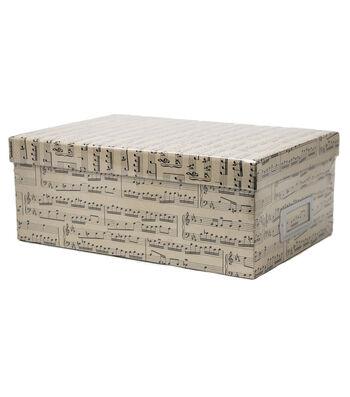 DCWV Music note Storage Box