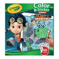Crayola Color & Sticker Book-Rusty Rivets