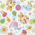 Super Snuggle Flannel Fabric-Jungle Animals