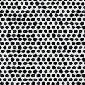 Keepsake Calico Cotton Fabric -Black Shaded Dot