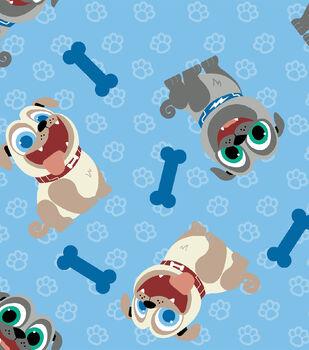 Disney Junior Puppy Dog Pals Cotton Fabric -Tossed