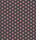 Quilter\u0027s Showcase Cotton Fabric 44\u0022-Medallion On Black