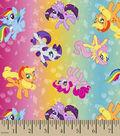 Hasbro My Little Pony Poly Spandex Knit Fabric 59\u0022-Ombre Toss