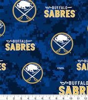 Buffalo Sabres Fleece Fabric-Digital, , hi-res