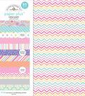 Doodlebug Design 12\u0027\u0027x12\u0027\u0027 Paper Plus Value Pack-Pastel