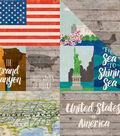 Around The World Double-Sided Cardstock 12\u0022X12\u0022-United States