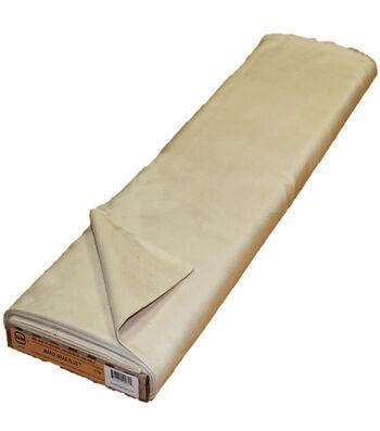 Roc-lon® Mardi Gras Plus Suede Finish Fabric-Vanilla