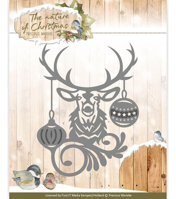 Find It Trading The Nature of Christmas Cutting Die-Christmas Deer