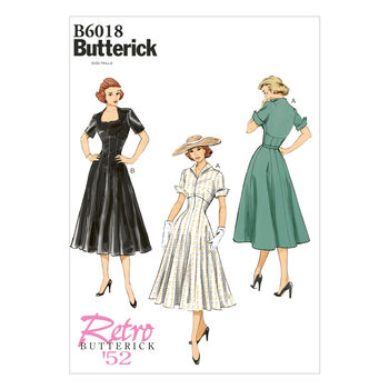 Butterick Misses Dress-B6018