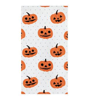 Maker's Halloween 16 pk 7.75''x7.75'' Guest Napkins-Jack-o'-lantern