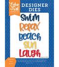 Echo Park Dies-Under The Sea Beach Fun Word