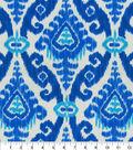 PKL Studio Outdoor Fabric 9\u0022x9\u0022 Swatch-East Indies Cobalt