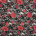 Casa Dahlia Embellished Fabric-Multi Floral