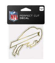 Buffalo Bills Gold Perfect Cut Decal, , hi-res