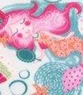 Anti-Pill Fleece Fabric 59\u0022-Magic Mermaids