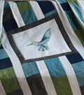 Square By Design Multi-Purpose Decor Fabric-Hummingbird 25\u0022 Woven Square