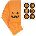 Wilton Maker\u0027s Halloween Mini Paper Treat Bags-Jack-O-Lantern