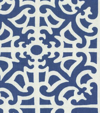 "Waverly Multi-Purpose Decor Fabric 54""-Parterre/Porcelain"