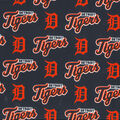 Detroit Tigers Cotton Fabric -All Over