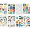 Lil\u0027 Dude Stickers 4\u0022X6\u0022 8/Pkg