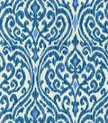 P/K Lifestyles Lightweight Decor Fabric 54\u0022-Srilanka/Indigo