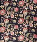 Home Decor 8\u0022x8\u0022 Fabric Swatch-Upholstery Fabric Eaton Square Russo Ebony