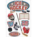 Paper House 3D Sticker Ice Hockey