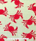 Outdoor Fabric 54\u0027\u0027-Red Crabs