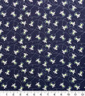 Glow in the Dark Flannel Fabric-Lightening Bug Glow