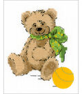 RIOLIS Happy Bee 5\u0027\u0027x6.25\u0027\u0027 Counted Cross Stitch Kit-Little Bear