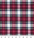 Snuggle Flannel Fabric -Traditional Stew Plaid