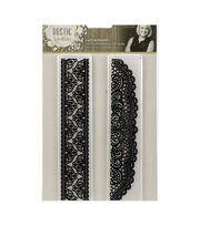 Crafter's Companion 2 pk Rustic Wedding Embossing Folders-Lace Borders, , hi-res