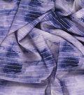 Kathy Davis Rayon Apparel Fabric -Dots on Purple