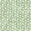 Waverly Upholstery Décor Fabric 9\u0022x9\u0022 Swatch-Painted Triangles Verte