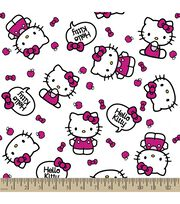 Sanrio Hello Kitty Print Fabric-Quote, , hi-res