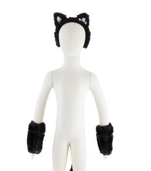 Maker's Halloween 3pc Child Costume Set-Cat
