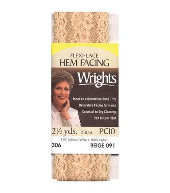 Wrights Flexi-Hem Facing-1-3/4''W x 2-1/2yds