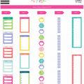 The Happy Planner Sticker Rolls-Schedule