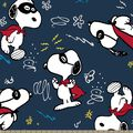 Peanuts Print Fabric-Super Snoopy