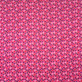 Doodles Cotton Interlock Fabric-Mini Flowers on Pink