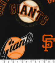 San Francisco Giants Fleece Fabric-Cooperstown, , hi-res