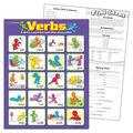 Verbs Learning Chart 17\u0022x22\u0022 6pk