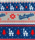 Los Angeles Dodgers Fleece Fabric 58\u0022-Winter