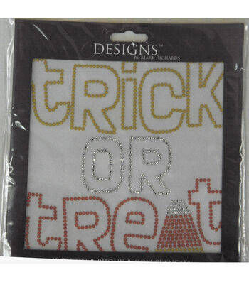Designs Iron-On-Trick Or Treat