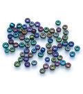 Darice Big Value! Seed Beads-100gr/Black Aurora Borealis