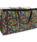 Two Lumps of Sugar Trunkster Trunk Tote-Geometric Prism