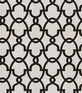 Eaton Square Lightweight Decor Fabric 54\u0022-Howard/Black White